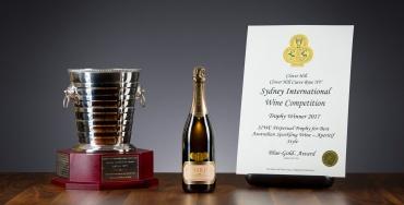 Clover Hill Cuvée Rosé wins the Perpetual Trophy