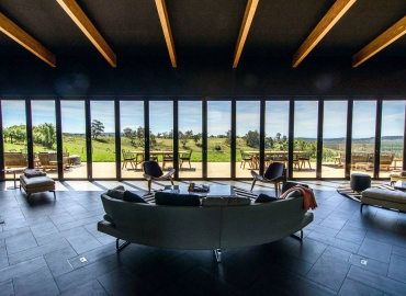 Clover Hill Cellar Door Tasmania - View - Photo by The Examiner Tasmania
