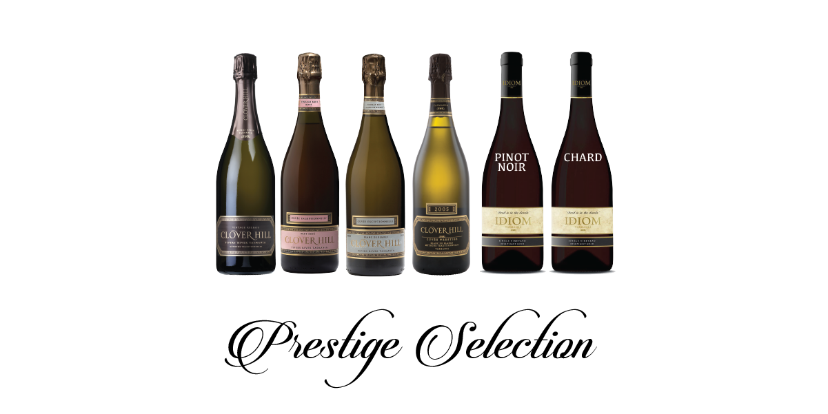 Join Clover Hill's Club Prestige to receive limited-release, member only wines and exclusive offers. Build your collection, vintage to vintage from Tasmania's premier boutique sparkling house, Clover Hill.