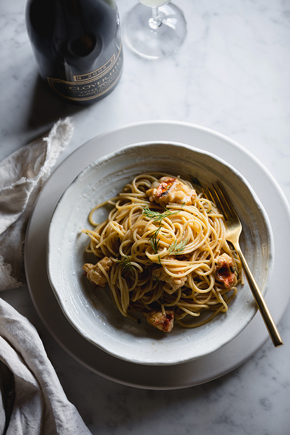 Crayfish Pasta by Ben Milbourne