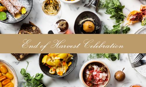 End of Harvest Celebration at Clover Hill Cellar Door