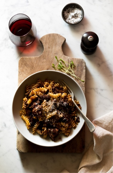 Braised Pure Black Oxtail Ragu