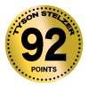 Tyson Stelzer - 92 points for Clover Hill